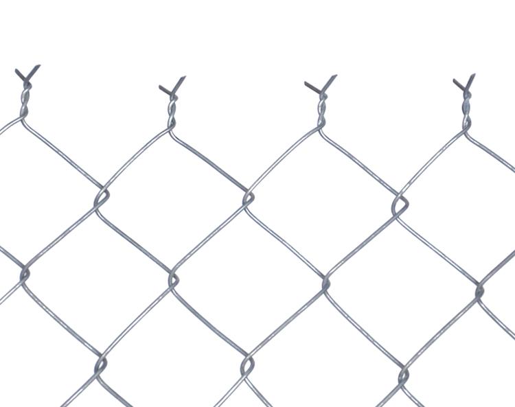 Oborové pletivo - výška 150 cm, drát 4,0 mm, oko 100x100 mm, Zn, bez ND