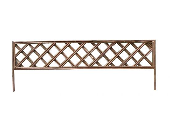 Plůtek z proutí - 100x35 cm, vzor kosočtverce