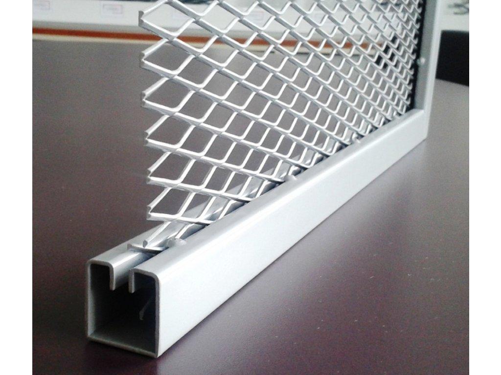 Lemovací profil WG40 ocelový - drážka 7.5 mm