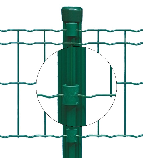 Svorky plastové Bekaclip zelené