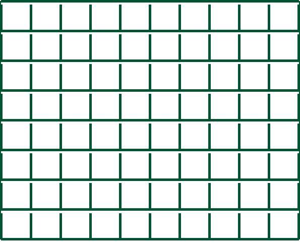 Svařované pletivo Voliplast - výška 100 cm, drát 2,5 mm, Zn+PVC zelená
