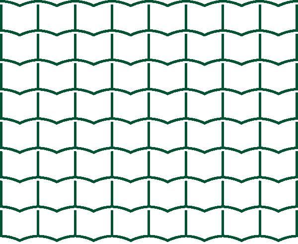 Svařované pletivo Multiplast/Pilonet Super - výška 100 cm, drát 3,0 mm, Zn+PVC zelená