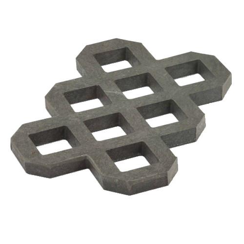 Zatravňovací dlažba LITE - šedá, 60x40x4 cm.