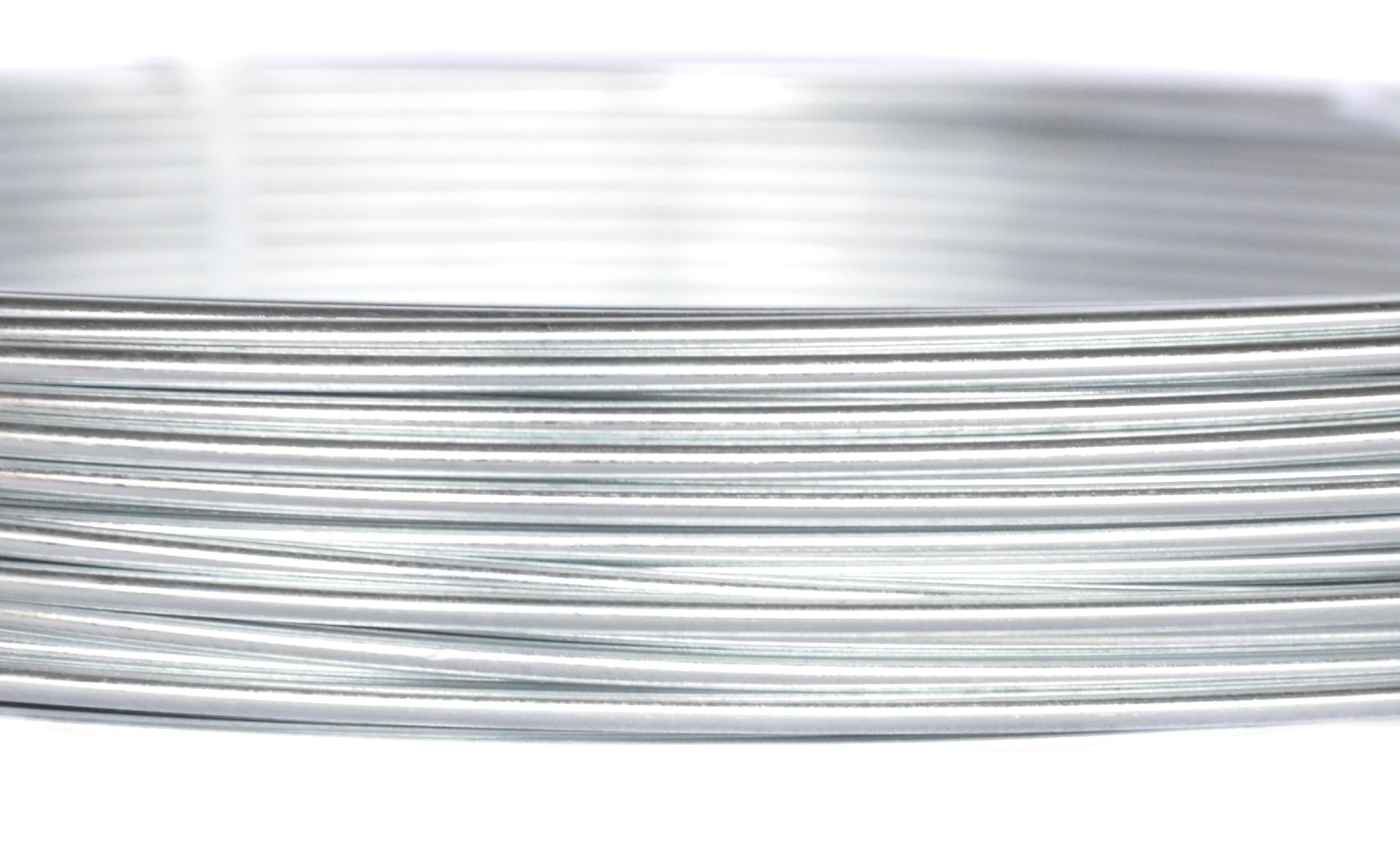Vinohradnický drát Zn + Al - průměr 2,5 mm, balení 25 kg