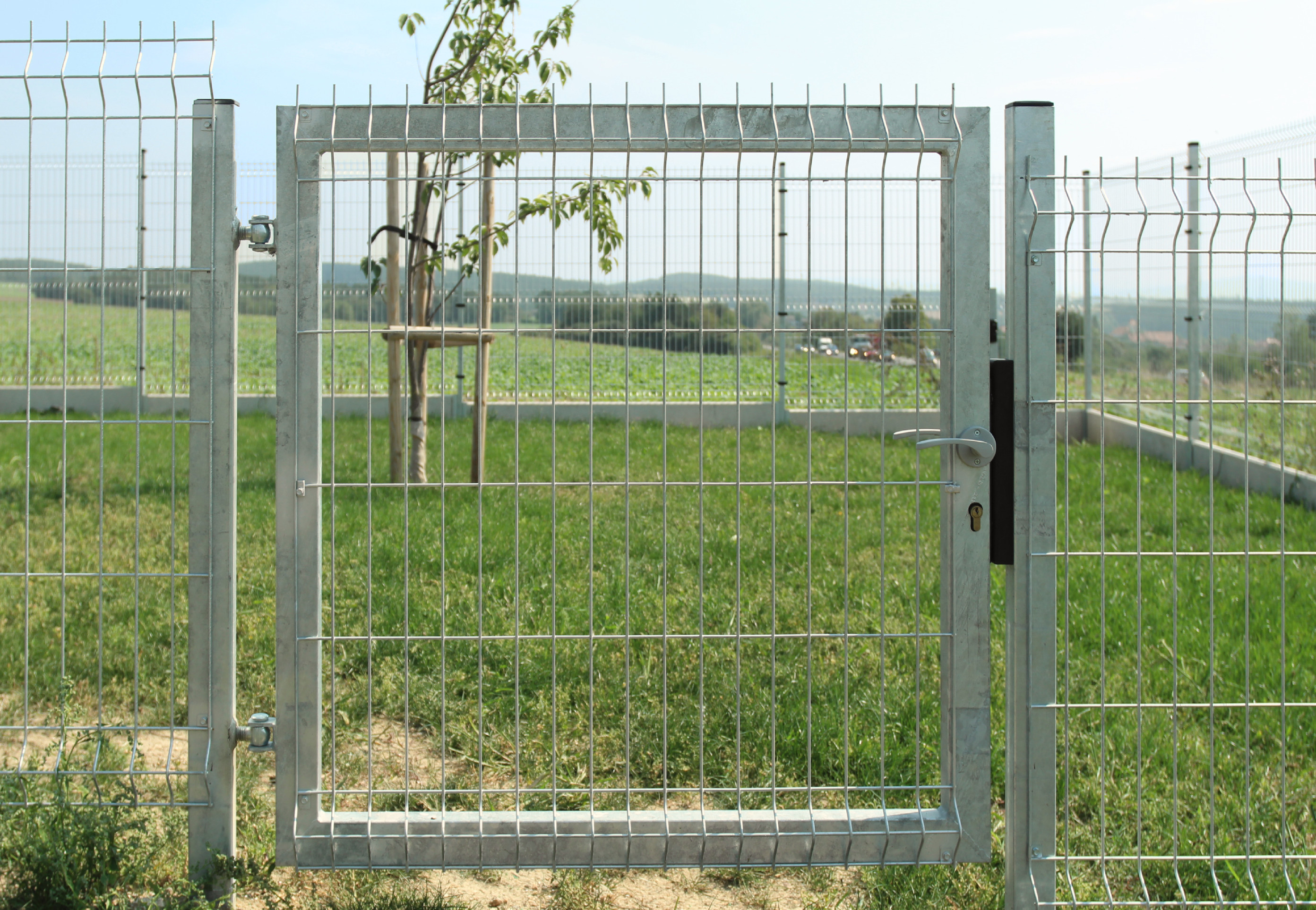 Branka zahradní pletivo, výška 100x100cm OKO pozink