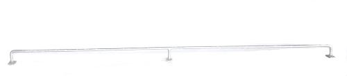 Konzole na zeď SUPER - 180 cm, 12 mm, zinková