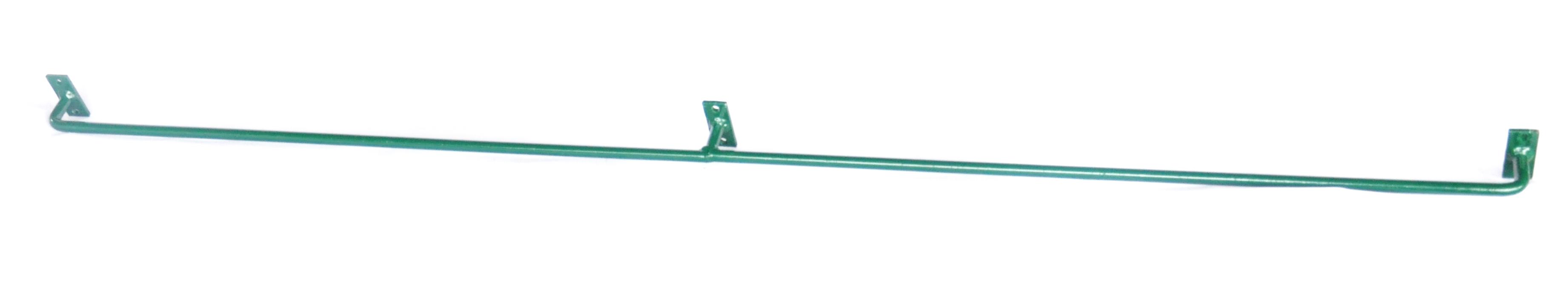 Konzole na zeď SUPER - 125 cm, 12 mm, zelená