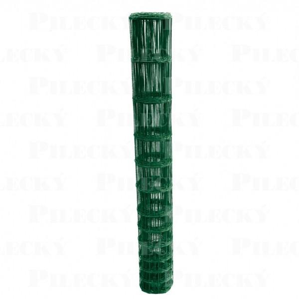 Lesnické pletivo svařované Benita PVC - výška 160 cm, drát 2,1 mm, 13 drátů, zelené