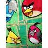 Dětská osuška Angry Birds Green