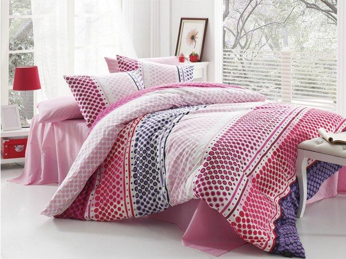 Bavlněné povlečení Fashion Pink