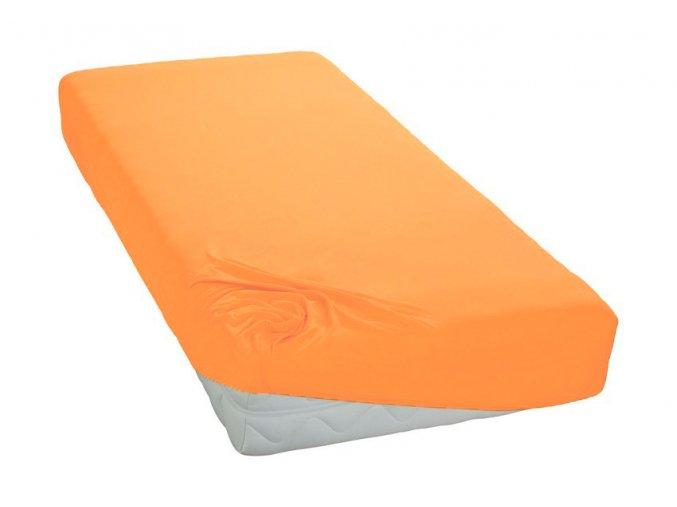 Jersey prostěradlo Pomerančové