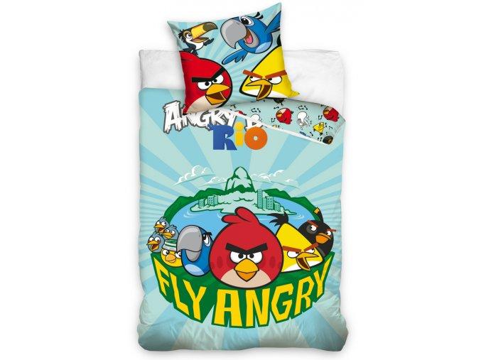 Dětské povlečení Angry Birds Fly