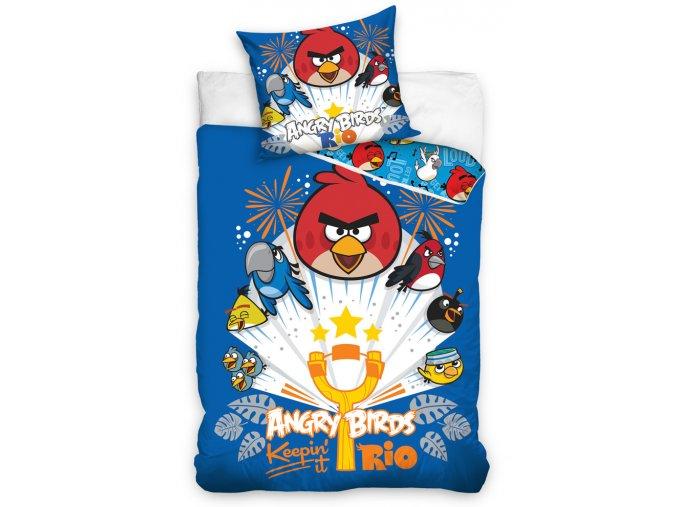 Dětské povlečení Angry Birds Prak