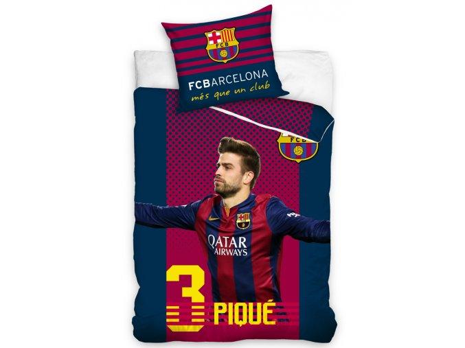 Fotbalové povlečení FC Barcelona Pique
