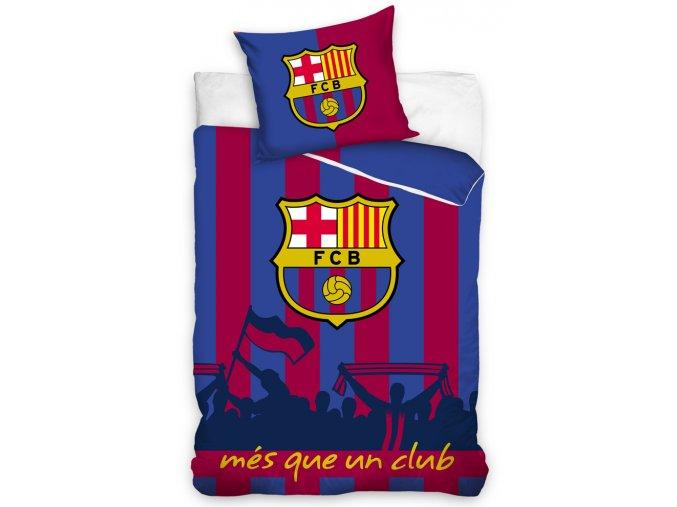 Fotbalové povlečení FC Barcelona Més que un club