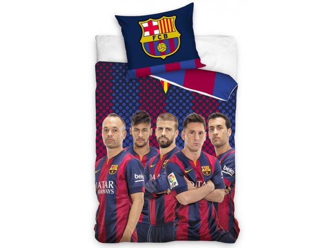 Fotbalové povlečení FC Barcelona Hráči