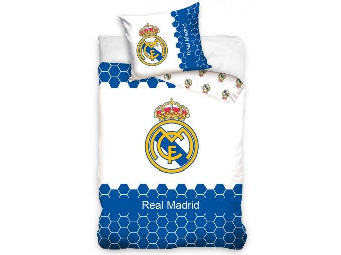 Fotbalové povlečení Real Madrid Modro-Bílé