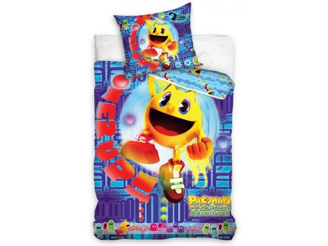 Povlečení Pac-Man Modré