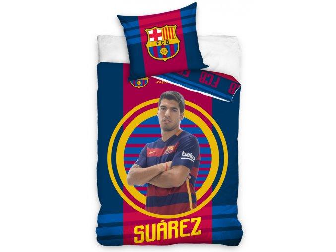 Fotbalové povlečení FC Barcelona Suárez 2016