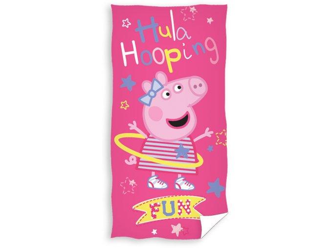 Dětská osuška Prasátko Pepa Hula Hop