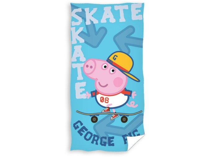 Dětská osuška Prasátko Pepa - George Skateman