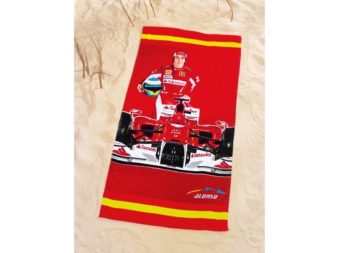 Plážová osuška Ferrari Alonso