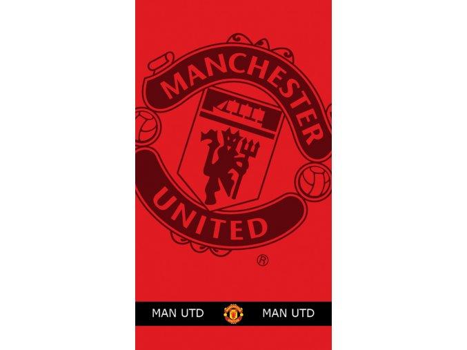 Fotbalová osuška Manchester United 90x160 cm