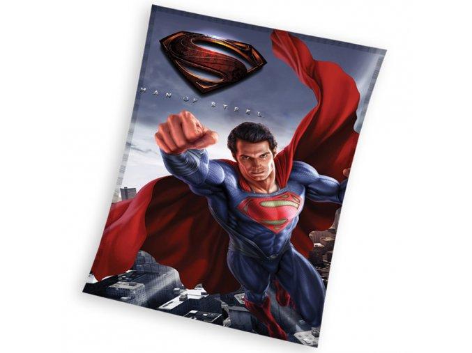 Dětská deka Superman Man of Steel