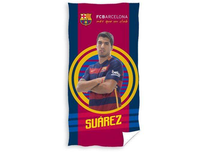 Fotbalová osuška FC Barcelona Suárez 2016