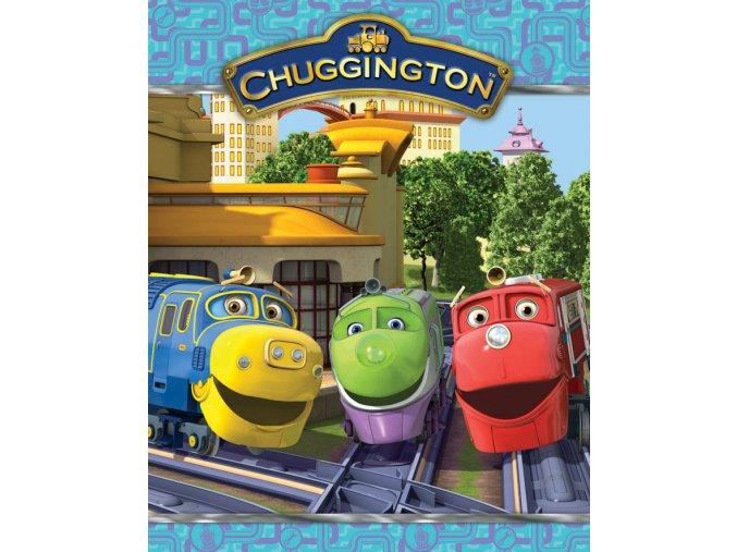 Dětská deka Chuggington - Veselé Vláčky