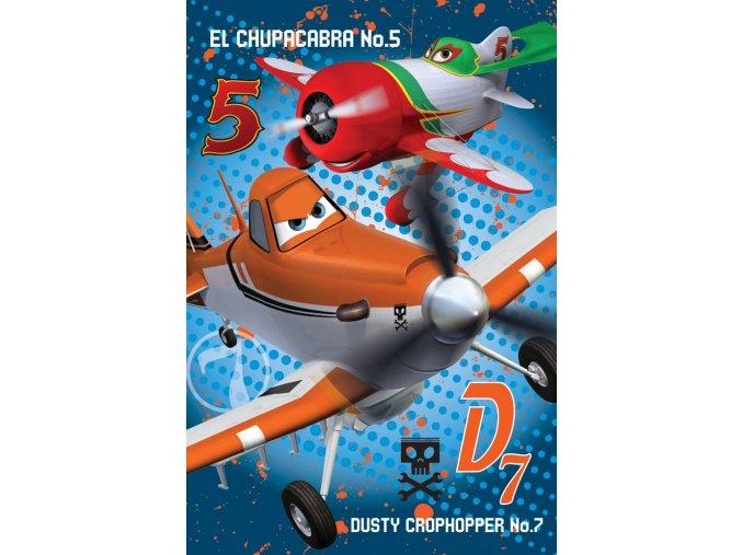 Dětská deka Disney - Letadla