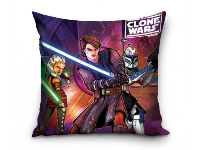 Povlak na polštářek Clone Wars Anakin Skywalker