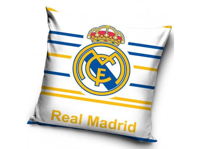 Povlak na polštářek Real Madrid Stripes