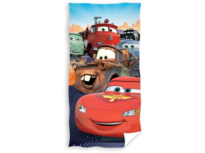 Dětská osuška Cars Friends