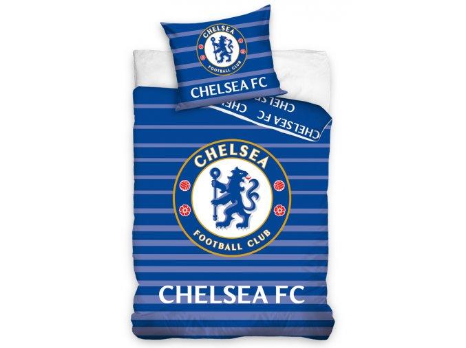 Fotbalové povlečení Chelsea FC Stripes