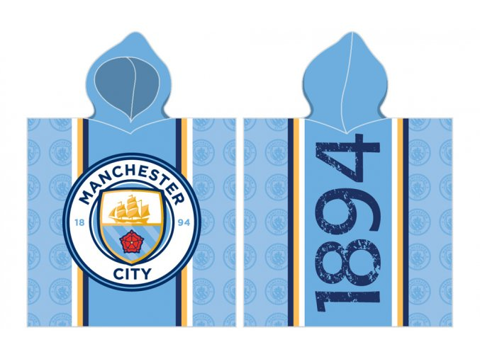 Detske Ponco Manchester City 16 2002