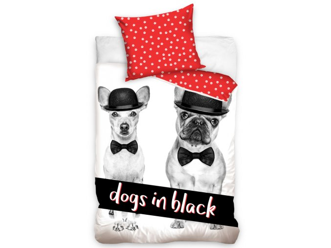 Detske povleceni Dogs in Black