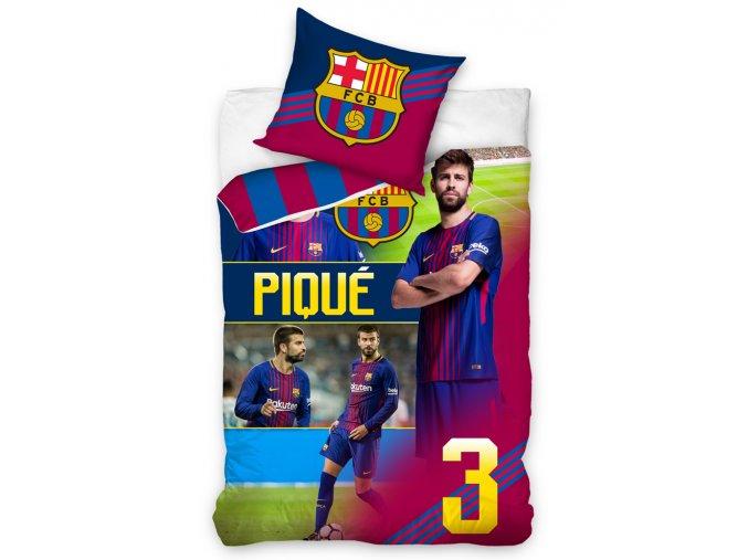 Fotbalove povleceni FC Barcelona Pique fcb172051