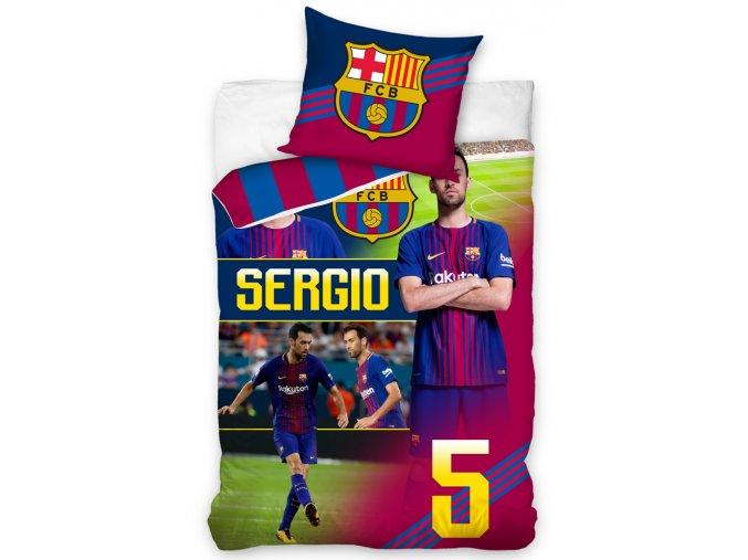 Fotbalove povleceni FC Barcelona Sergio fcb172050