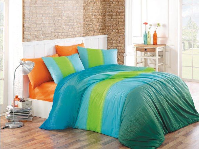 Bavlnene povleceni Colourful Modre BedTex