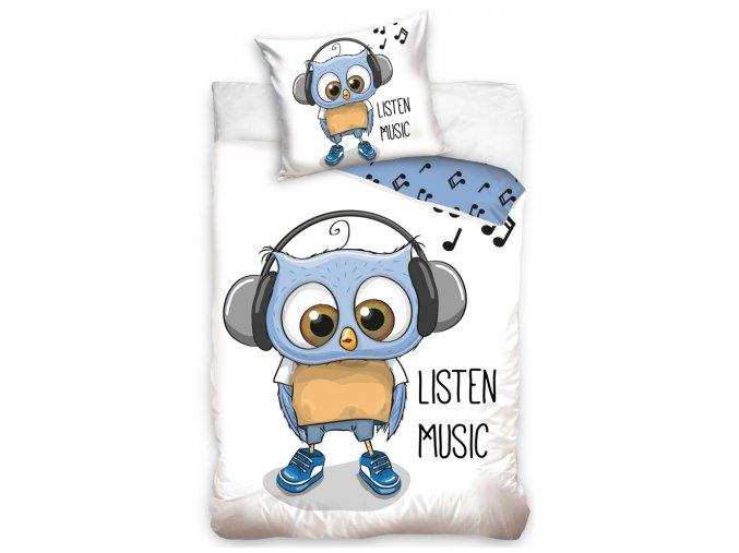 Detske povleceni Sova Danny Music 161019