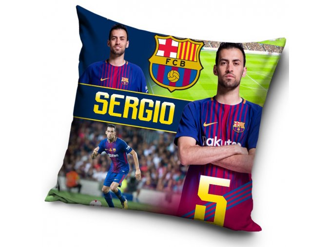 Polstarek FC Barcelona Sergio 2018
