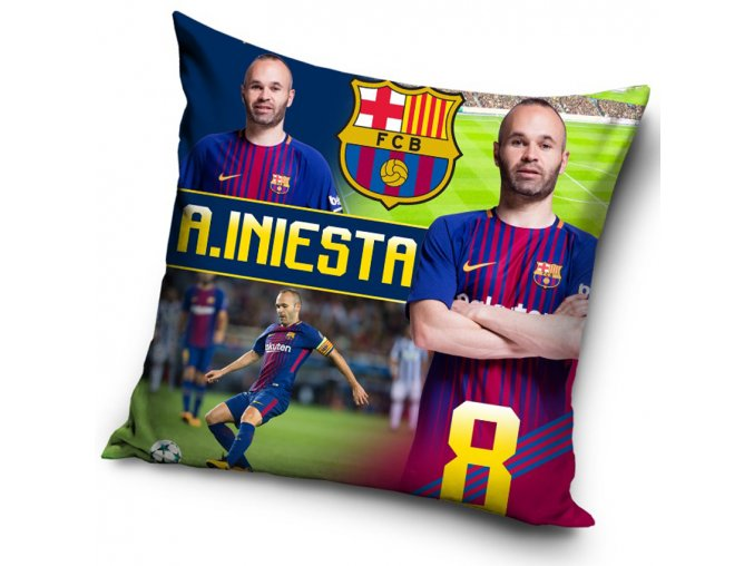 Polstarek FC Barcelona Iniesta 2018