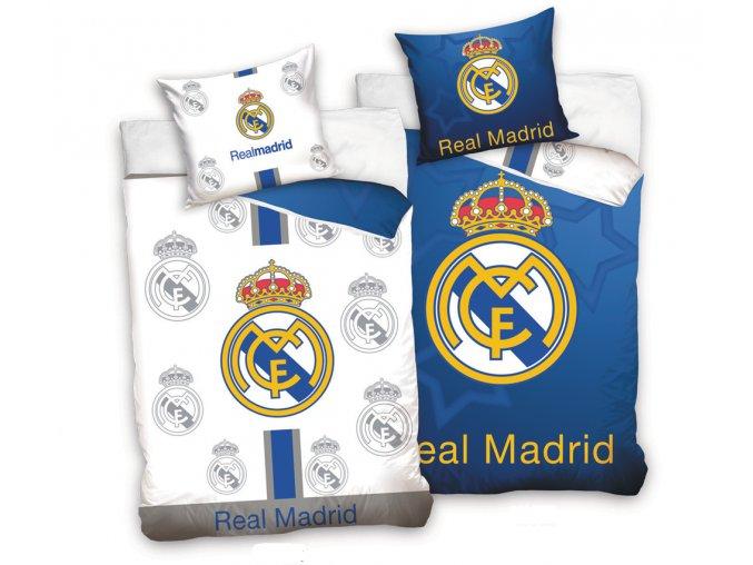 Fotbalove povleceni Real Madrid Blue White