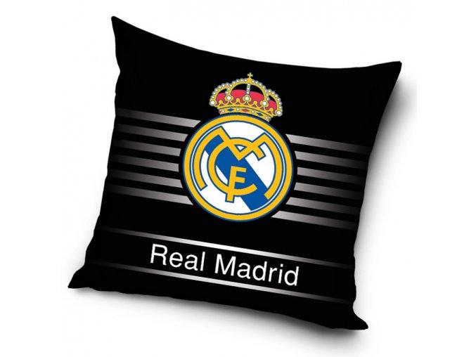 Polstarek Real Madrid Grey Stripes