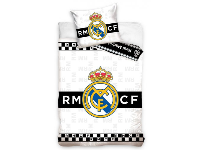 Fotbalove povleceni Real Madrid Thin Chessboard