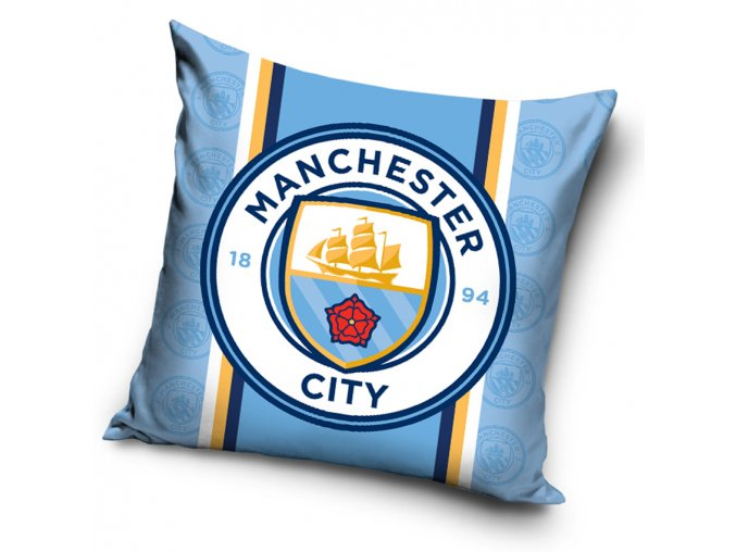 Fotbalovy polstarek Manchester City Triplet