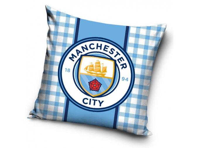 Fotbalovy polstarek Manchester City Bricks