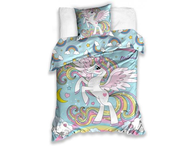 Detske povleceni Kouzelny Jednorozec unicorn181001