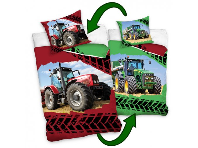 Detske povleceni Traktory lic a rub
